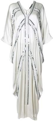 Josie Natori Cocoon caftan dress