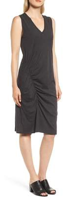 Kenneth Cole New York Ruched Jersey Sheath Dress