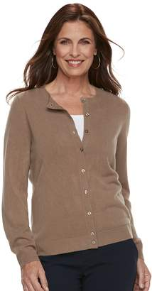 Croft & Barrow Women's Essential Extra Cozy Cardigan