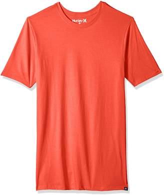 Hurley Men's Premium Cotton Staple Short Sleeve Tee Shirt
