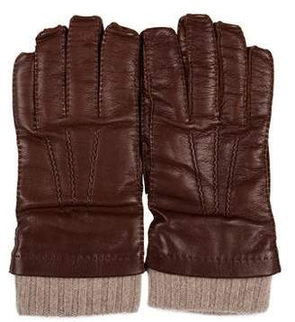 Loro Piana Baby Cashmere Leather Gloves