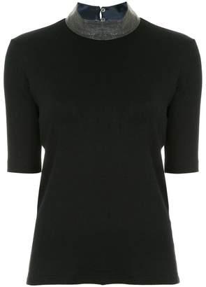 Fabiana Filippi halter neck T-shirt
