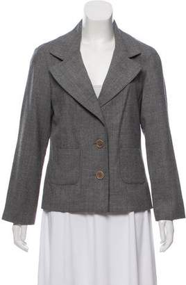 Tory Burch Wool Notch-Lapel