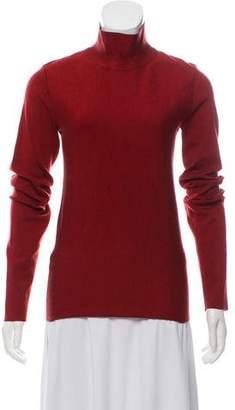 Celine Lightweight Mock Neck Sweater