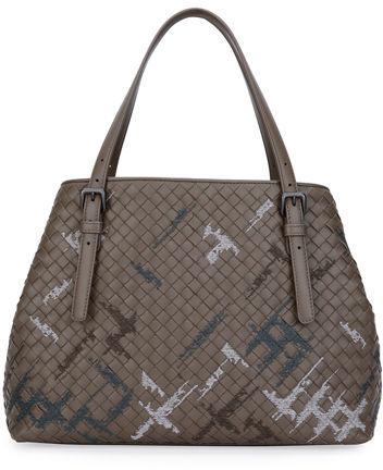Bottega VenetaBottega Veneta Intrecciato Double-Handle Tote Bag