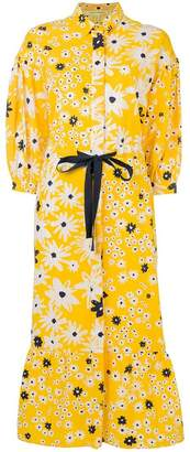 Parker Chinti & floral print shirt dress