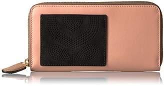 Orla Kiely Punched Pocket Leather Big Wallet Wallet