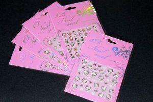 Hello Kitty Nail Art Sticker - 5 pack Mixed Design $6.99 thestylecure.com