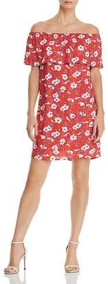 Vero Moda Molly Off-the-Shoulder Floral Dress