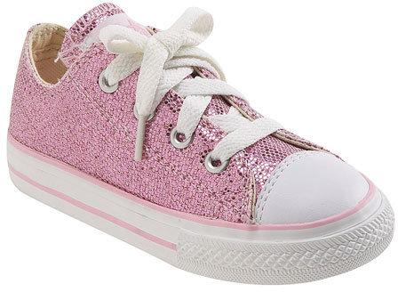 Converse Chuck Taylor® Glitter Sneaker (Baby, Walker, Toddler & Little Kid)