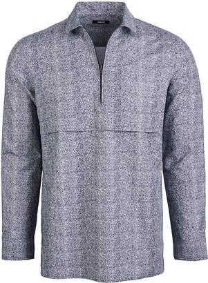 Alfani Men's Zip-Front Shirt