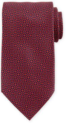 Stefano Ricci Matrix Pattern Silk Tie