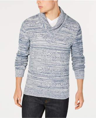 American Rag Men Jacquard Shawl-Collar Sweater