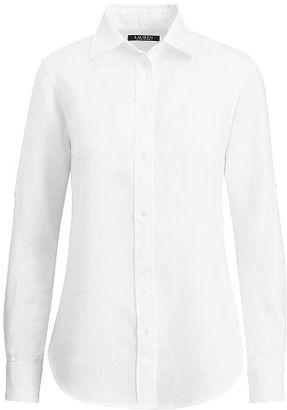 Ralph Lauren Linen Roll-Cuff Shirt $89.50 thestylecure.com