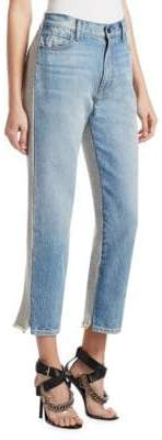 Alexander Wang Cropped Contrast Jeans