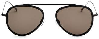Illesteva Dorchester Ace 55mm Aviator Sunglasses