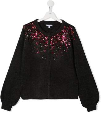 Little Marc Jacobs knitted sequin cardigan