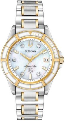 Bulova Women's Two-Tone Marine Star Watch