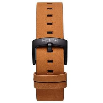 MVMT Mens Revolver Series20mm Tan Leather