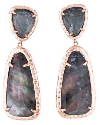Kendra Scott Quartz & Mother of Pearl Daria Drop Earrings