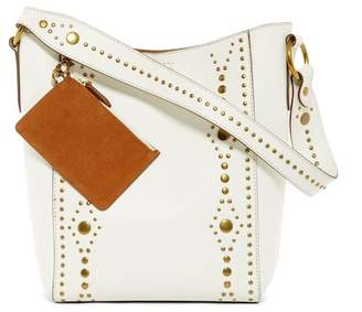 Frye Harness Stud Leather Bucket Bag