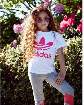 adidas Girls' Trefoil T-Shirt Children