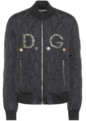 Dolce & Gabbana Embellished bomber jacket