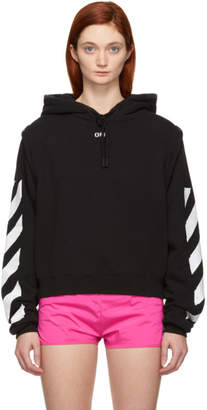 Off-White Black Diagonal Hoodie