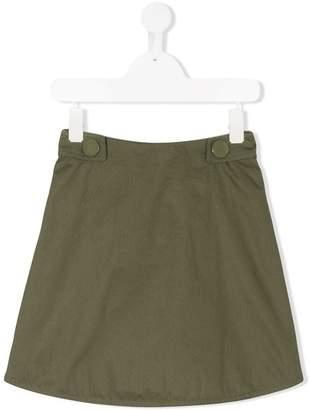 Marni zipped A-line skirt