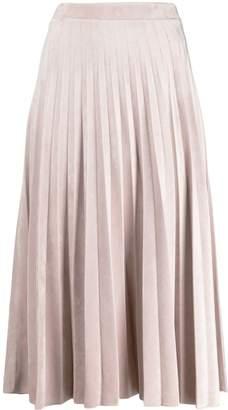 D-Exterior D.Exterior pleated skirt