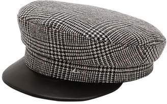 Wool Blend Captain's Hat