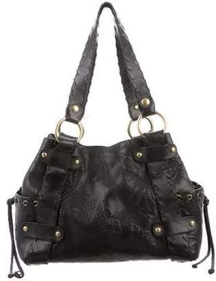 Kooba Embossed Leather Tote