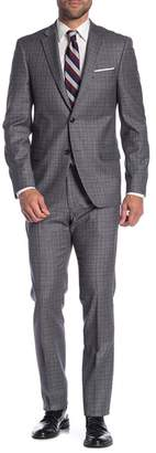 Tommy Hilfiger Plaid Slim Suit