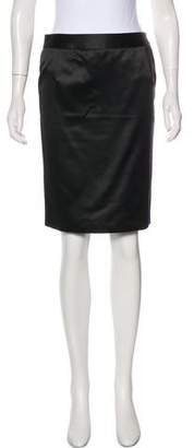 Christian Dior Silk Pencil Skirt