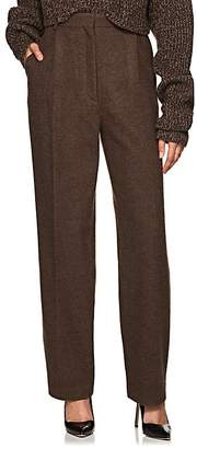 The Row Women's Nikah Wool-Cashmere High-Waist Trousers