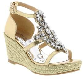 Badgley Mischka Sophia Barre Wedge Sandal