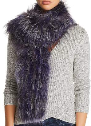 Maximilian Furs Knit Fox Fur Scarf - 100% Exclusive