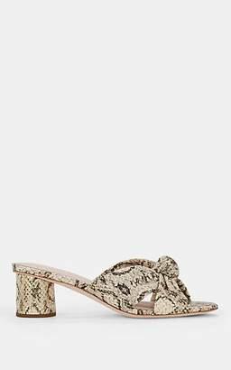 Loeffler Randall Women's Celeste Knotted Leather Sandals - Neutral