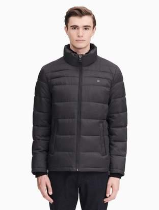 Calvin Klein quilted zip puffer jacket