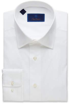 David Donahue Men's Regular-Fit Superfine Twill Dress Shirt