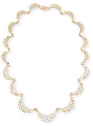 Ivanka Trump Liberte 18k Gold and Diamond Collar Necklace $15,900 thestylecure.com