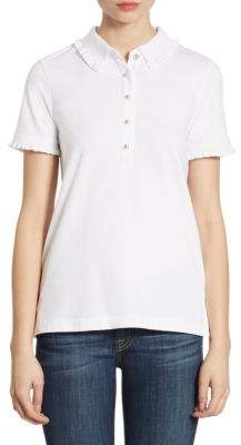 Tory Burch Lacey Short-Sleeve Polo