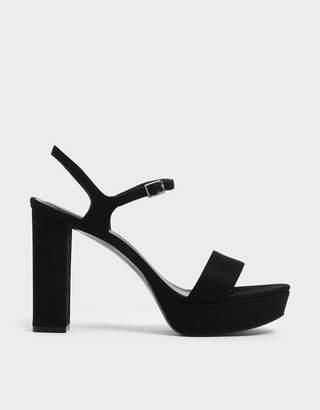 Charles & Keith Chunky Platform Heels