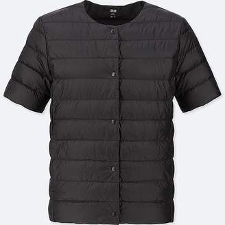 Uniqlo Women's Ultra Light Down Puffer Compact Short-sleeve Jacket (online Exclusive)