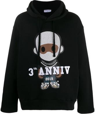 Ih Nom Uh Nit signature print hoodie