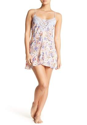 Jonquil In Bloom by Windflower Lace Trim Chemise