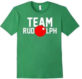 Team Rudolph Funny Christmas Reindeer Costume T-Shirt
