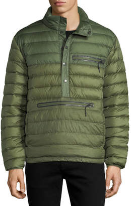 Hawke x Burkman Quilted Puffer Pullover Jacket