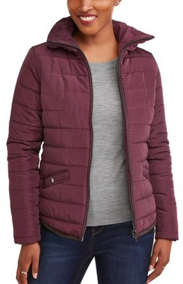 JASON MAXWELL Women's Fitted Puffer Coat