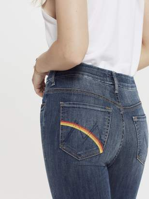 Mother High Waisted Looker Ankle Fray - Rough Rainbows